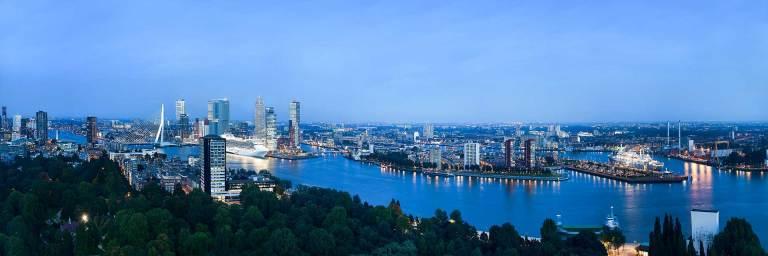 Rotterdam, HDR fotografie