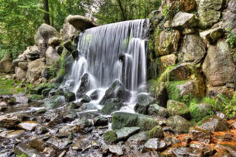 watervallen, sonsbeek, natuurfotografie