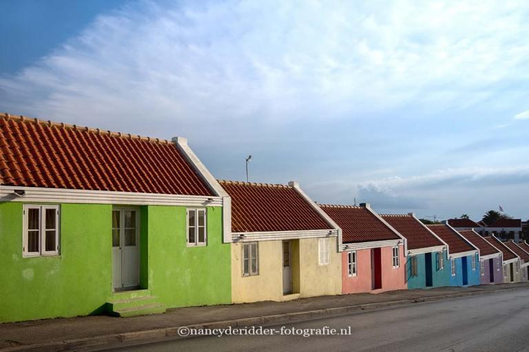 reizen, curaçao, gekleurde-huisjes