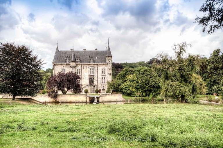 Schaloen, kastelen, Limburg