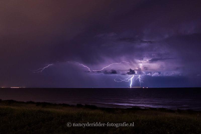 onweer, donder-bliksem, natuurfotografie