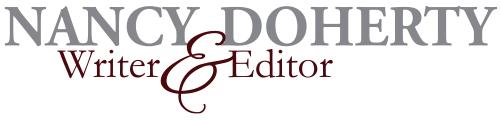 Nancy E Doherty, Writer and Editor