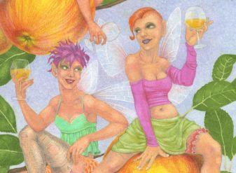 Cider Apple Fairies - detail 3