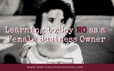 Saying No As A Female Business Owner