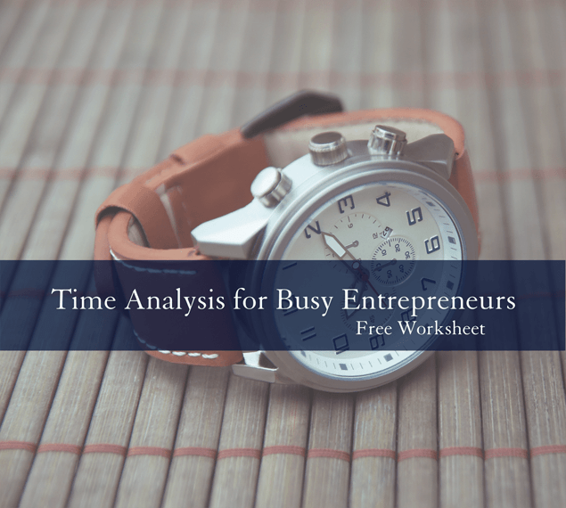 Time Analysis for Busy Entrepreneurs free worksheet