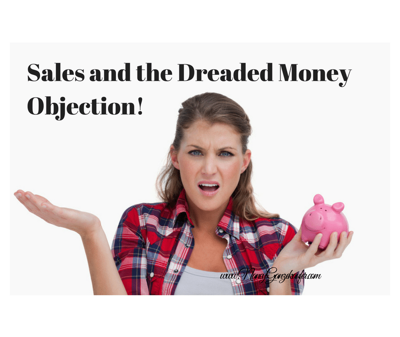 Sales and the Dreaded Money Objection