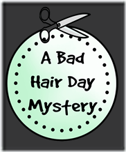 Bad Hair Day Mystery logo