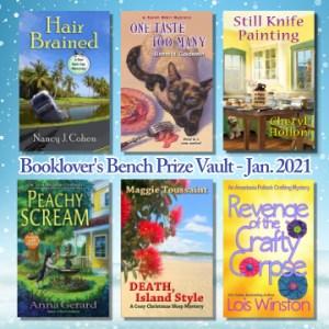 Jan. 2021 Book Giveaway