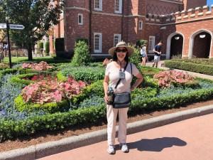 Nancy J. Cohen at Epcot