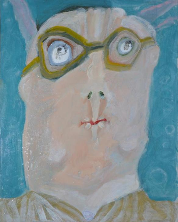 Abstract Portrait Of A Man