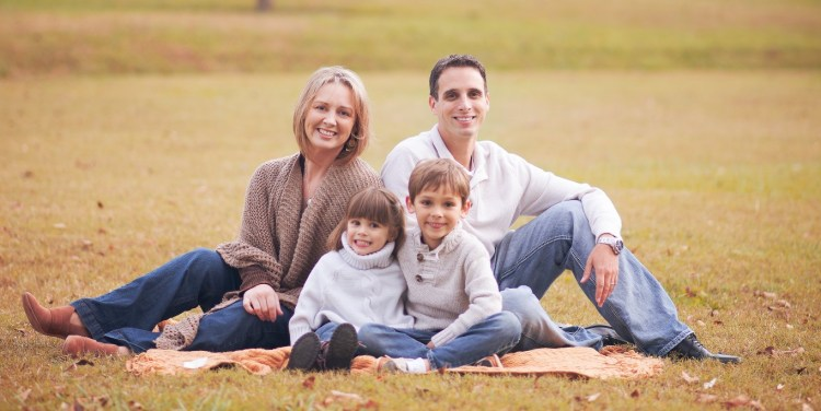 Nancy Ouellette and family