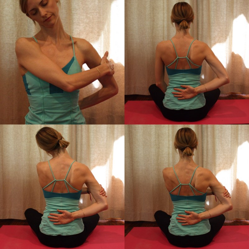 Tricep Pull - Neck Stretch