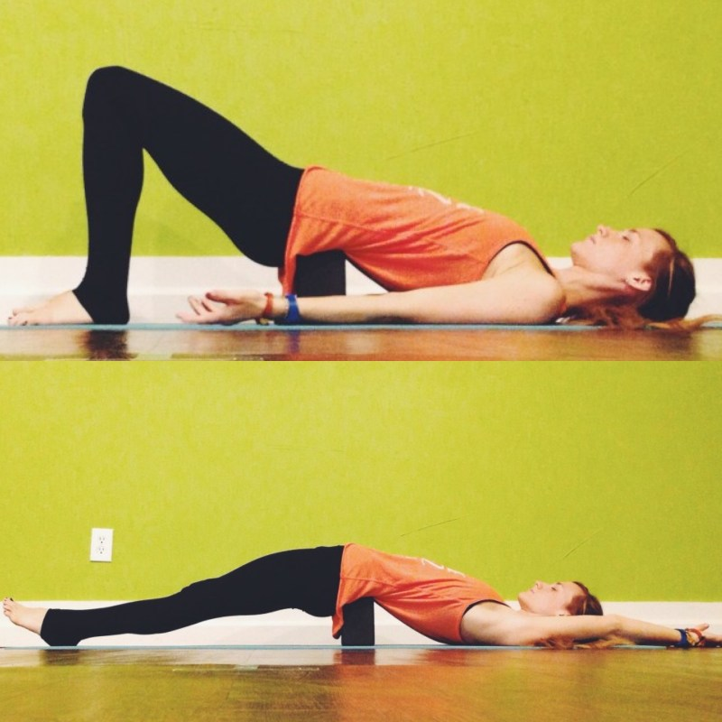Yin Sequence for Hips - Bridge