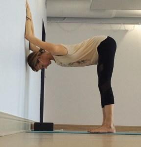 yin yoga at the wall  nancy nelson