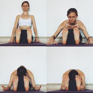 Yin Yoga - Meridians - Forward Fold (seated)