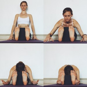 Yin Yoga - Meridians - Forward Fold (seated)