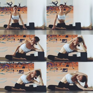 Yin Yoga - Meridians - Lateral Stretch