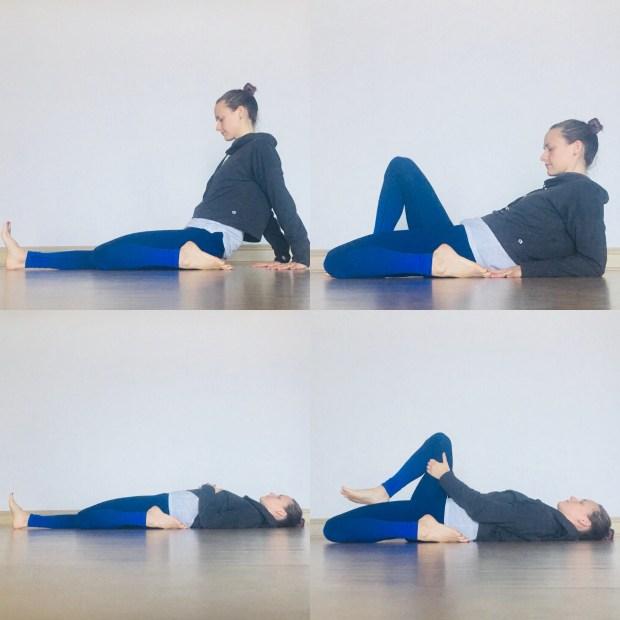 Hip Flexor Stretches - Half Hero or Saddle Pose