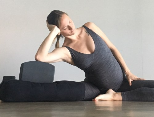 Side Body Stretch - Prenatal Yin Yoga Sequence