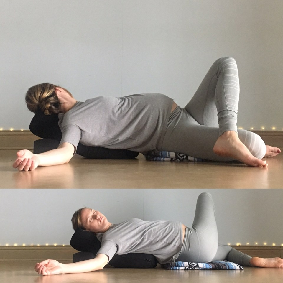 Energizing Spring Yin Sequence - Fig 4 Twist