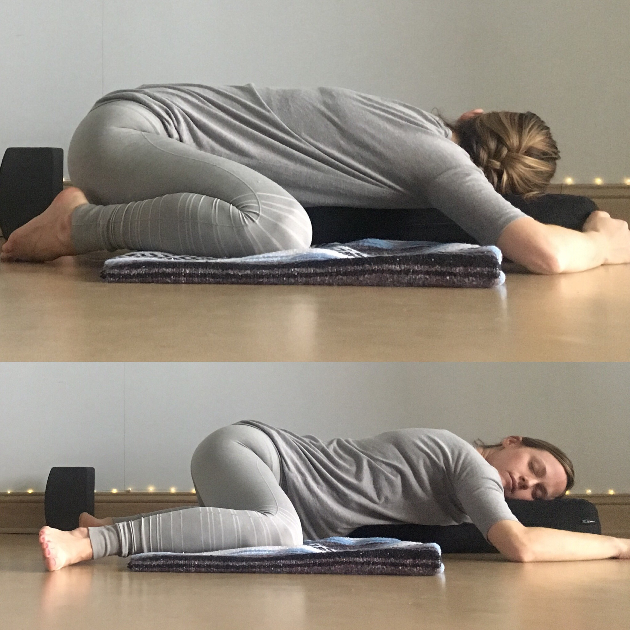 Energizing Spring Yin Sequence – Frog Pose