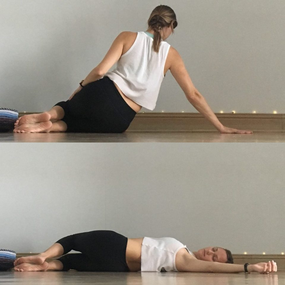 Yin Yoga Sequence - Low Back Love - Supine Twist