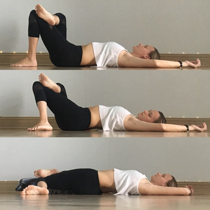 Yin Yoga Sequence - Low Back Love - Wiper Twist