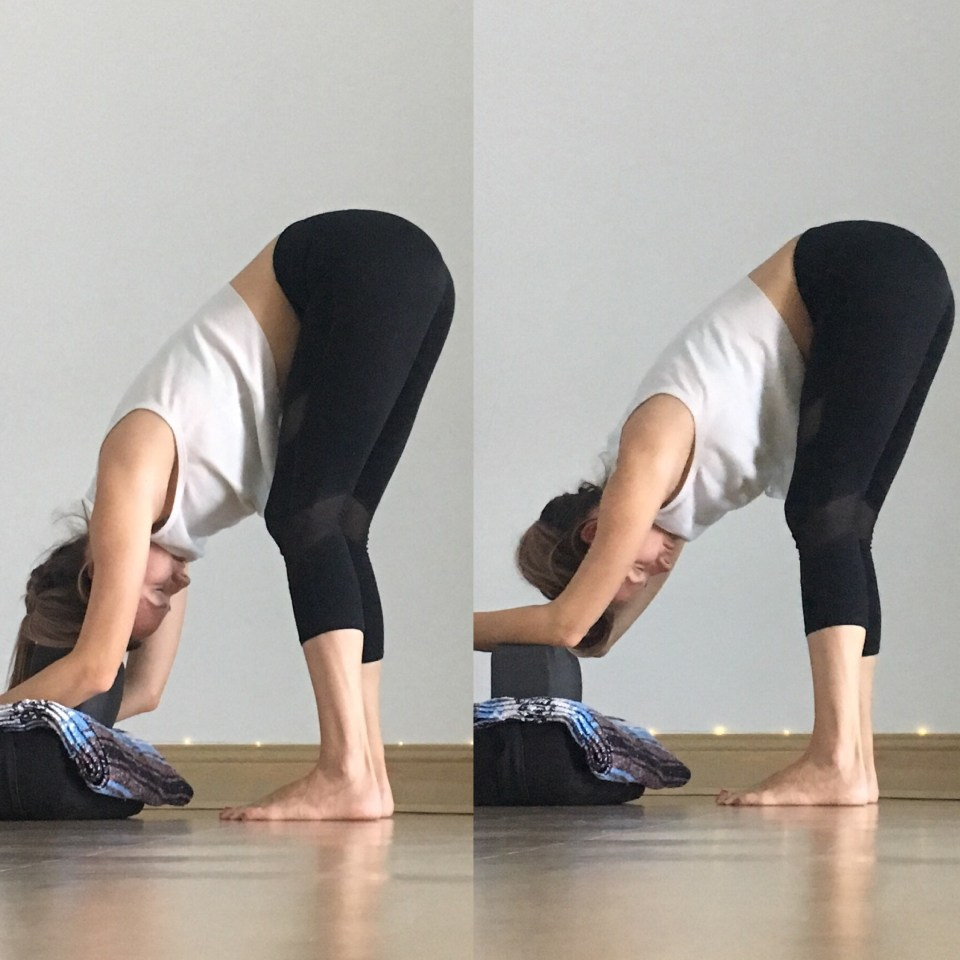 Yin Yoga Sequence - Low Back Love -  Dangling