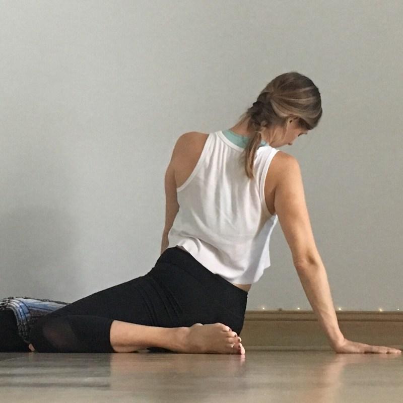 Yin Yoga Sequence - Low Back Love - Deer Twist