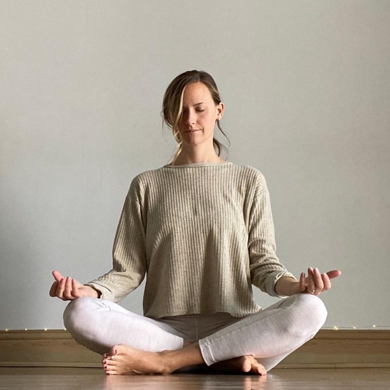 Yin Yoga Sequence - Journey to Frog Pose - Sukhasana