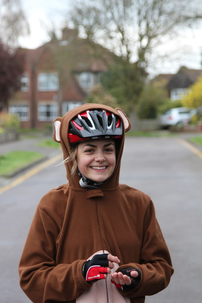 Stop Press: Monkey seen cycling from London to Brighton!! (4/6)