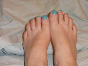 green toenails 1