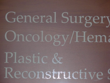 I can't believe I need an oncologist