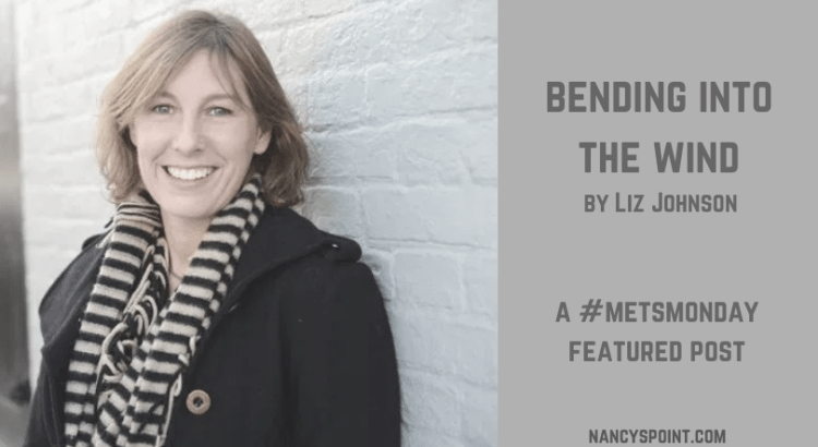 Bending Into the Wind by Liz Johnson A #MetsMonday featured post #metastaticbreastcamcer #mbc