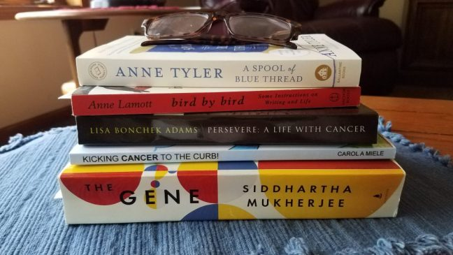 My current to-read pile. What's on your pile?