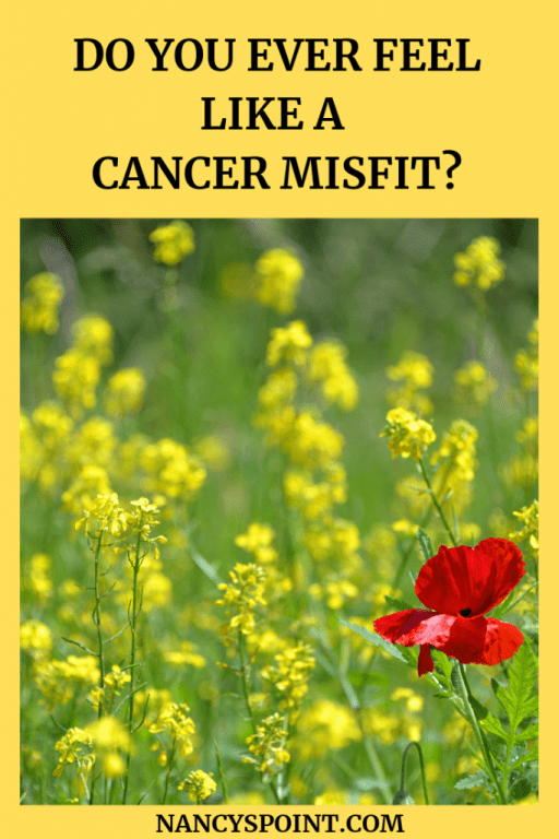 Do You Ever Feel Like a Cancer Misfit? #breastcancer #cancer #patient #womenshealth #mentalhealth