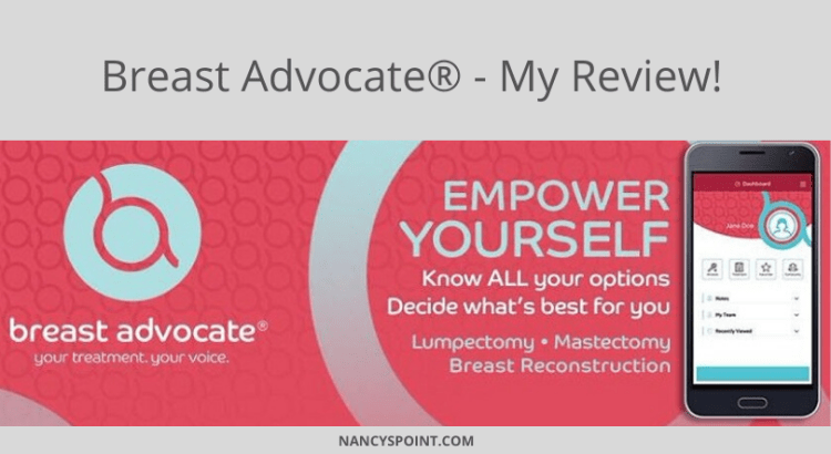 The Updated Breast Advocate App & Why You Should Download It Today - My Review #breastcancer #mastectomy #reconstruction #MBC #malebreastcancer #hereditarycancer #BRCA