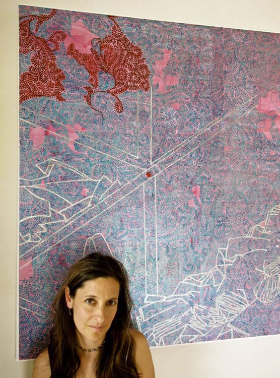 13_w_Carole_Silverstein--Artist_Portrait_Photo_by_Moira_Sims