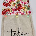 Nancy Zieman The Blog Kitchen Towel Topper Tutorial
