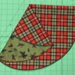 Nancy Zieman The Blog 30 Minute Christmas Tree Serger Napkin Sewing Tutorial