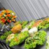 Centro de mesa para buffet o evento corporativo