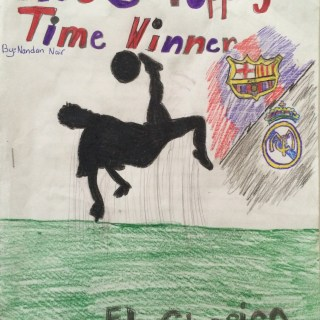 Cover page: Shows Bicycle Kick