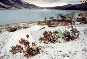 野反湖(雪)