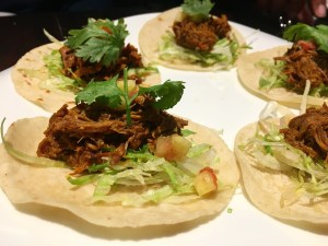 tender beef tacos at toro gastrobar in tokyo