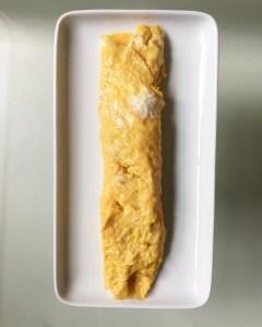 completed tamagoyaki roll