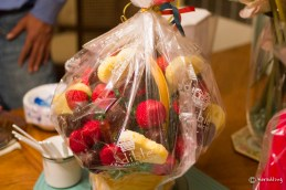 Edible arrangement from dear friend I've been meaning to call.