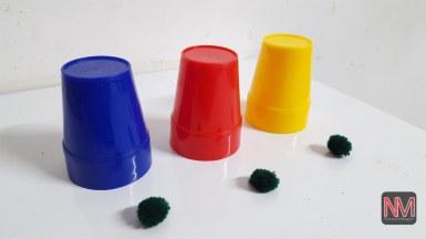 CUPS & BALL (Plastic),