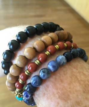 Mala Beads: bracelets from Indolove ($24-$29). These high-quality, colorful accessories are great for moms who include chanting and meditation in yoga practice.