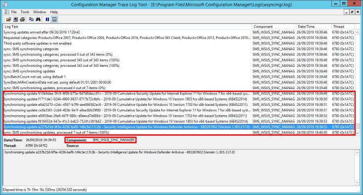 14 - SCCM - Software Updates - wsyncmgr
