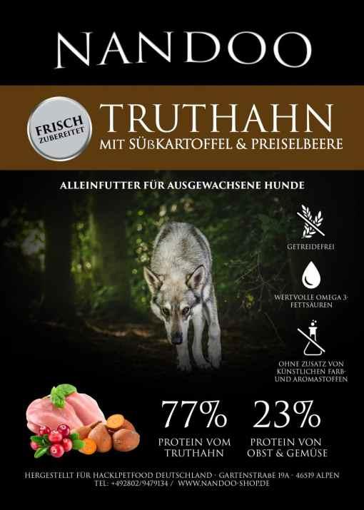 GFH-e1598430276374 Truthahn mit Süßkartoffel & Preiselbeere